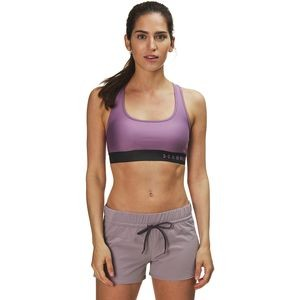 Armour Mid Crossback Sports Bra - Womens