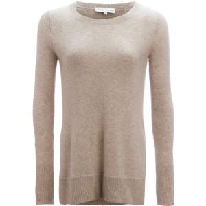 Pointelle Crewneck Sweater - Womens