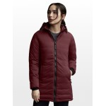 Camp Down Hooded Matte Finish Jacket - Womens