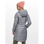 Lake 22 Long Hooded Down Jacket - Womens