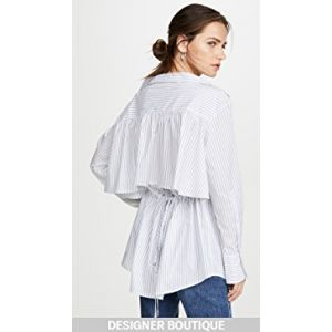 Ruched Parachute Shirt