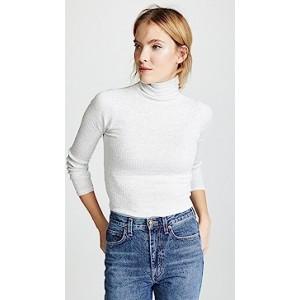 Julie Rib Turtleneck Sweater