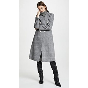 Jemma Plaid Coat