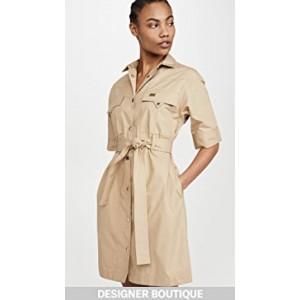 Short Sleeve Safari Shirtdress