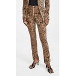 Velvet Leopard Suit Pants