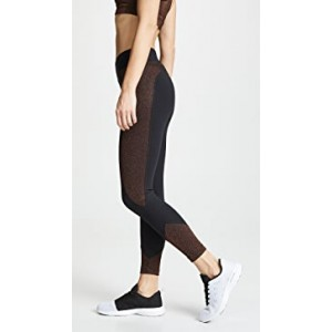 Curved Mid Rise Glow Crop Leggings