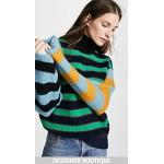 High Collar Boxy Sweater