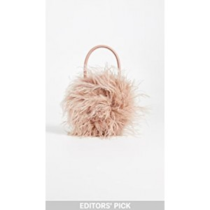 Zadiea Feather Circle Tote Bag