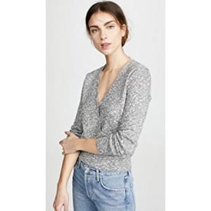Rose Rib Wrap Sweater