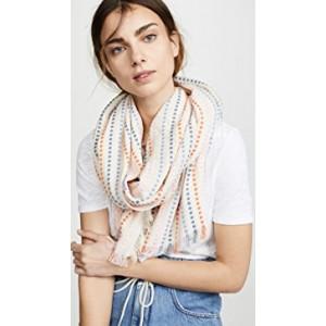 Woven Thread Stripe Scarf