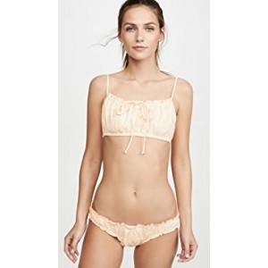 Gale Drawstring Bikini Top