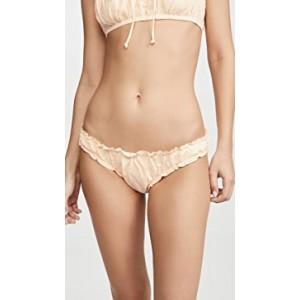 Olivia Ruched Hipster Bikini Bottoms