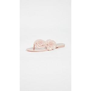 Melissa Harmonic Flower Flip Flops