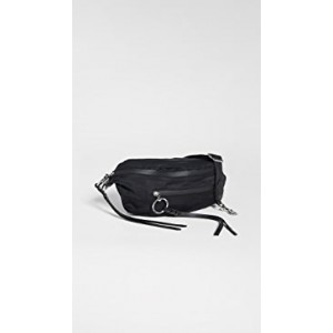 Bree Large Zip Nylon Belt Bag