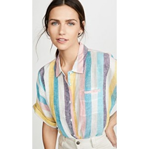 St. Barths Stripe Button Down