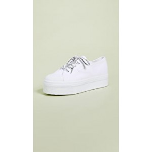 White Out Package Platform Sneakers