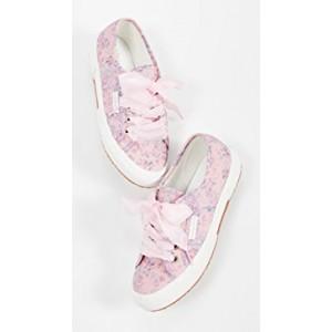 x LoveShackFancy 2750 Barefoot Floral Sneakers