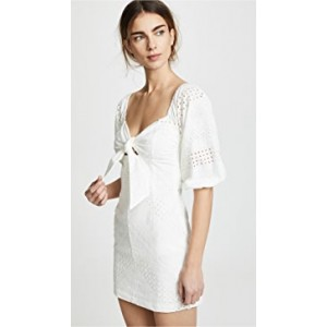 Blanca Tie Front Mini Dress