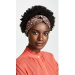 Octagon Printed Silk Headband