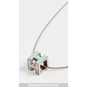 Hermes Caged H Necklace