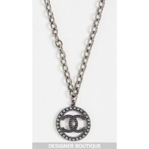 Chanel Metal CC Necklace