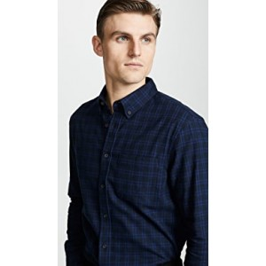 Jaspe Check Flannel Shirt