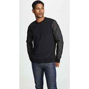Quilted Sleeve Pull Over