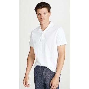 Split Neck Polo Shirt
