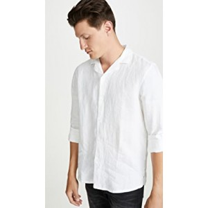 Long Sleeve Linen Solid Shirt