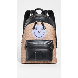 x Yeti Out Academy Smiley Face Backpack