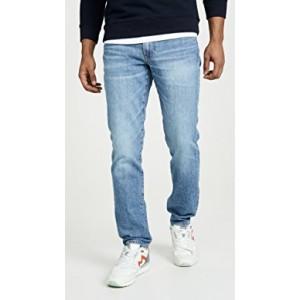 Straight Jeans In Adam Wash