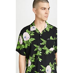 Brainiac Floral Short Sleeve Shirt