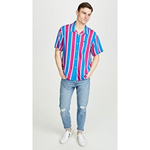 Sutter Stripe Short Sleeve Shirt