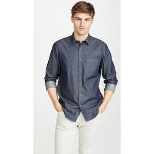Irving Denim Button Down Shirt