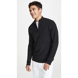 Detroe Merino Quarter Zip Sweater