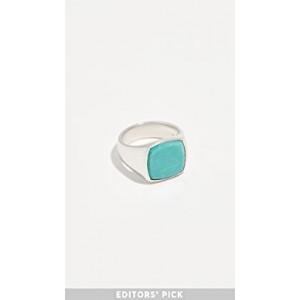 Cushion Turquoise Ring