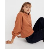 Chord Bubble-Sleeve Top