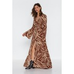 Without Feather Ado Maxi Dress