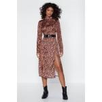 Help Meow-t Leopard Dress