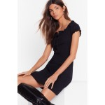 Tongue-Tied Lace-Up Dress