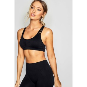 Fit Seam Free Removable Moulded Cup Sports Bra