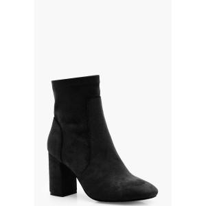 Square Toe Sock Boots
