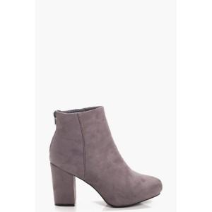 Mid Heel Shoe Boots