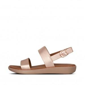 Leather Back-Strap Sandals