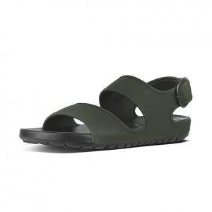 Mens Neoprene Back-Strap Sandals