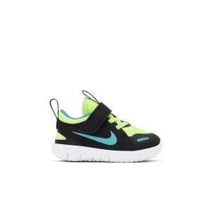 Nike Flex Contact 4 Ghost Green/Black Toddler Kids Shoe