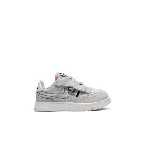 Nike Squash-Type Grey Fog/Pink Toddler Kids Shoe