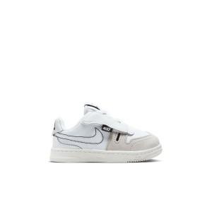 Nike Squash-Type Summit White/Black Toddler Kids Shoe
