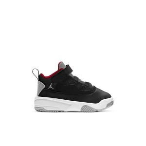 Jordan Max Aura 2 Black/Gym Red/White/Wolf Grey Toddler Boys Shoe