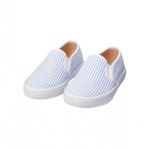 Seersucker Slip-On Sneaker